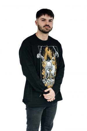 Necrotted, Chains, Longsleeve, Black, Male